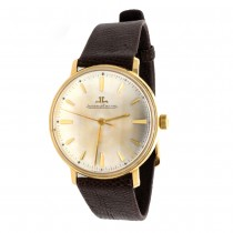 Men's 18k Yellow Gold Jaeger Le Coultre Watch