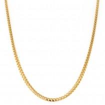 18k Yellow Gold Franco Chain 2 mm. 20-inch