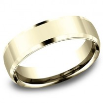 Men's 14k Yellow Gold 5.50MM Wedding Band