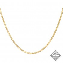 14k Yellow Gold 2.50 mm Mariner Chain - 18 Inches