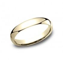 14k Yellow Gold 3 MM Men's Wedding Band
