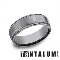 Men's 7MM Tantalum Wedding ring