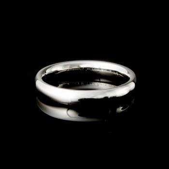 Men's Wedding Band 14k White Gold 3MM