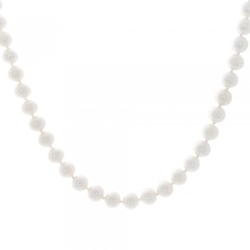 Ladies Freshwater Pearl NEcklace with 14k White Gold Lock