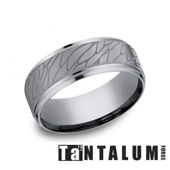 Men's Tantalum 8MM Wedding Band