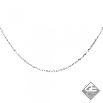 Ladies 14k Gold 1.4 DC Rolo Chain Necklace-18 inches