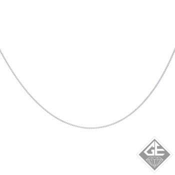 Ladies 14k Gold 0.75 mm Box Chain Necklace-16 inches