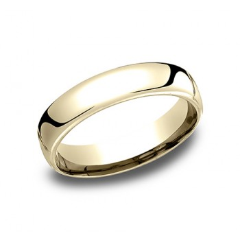14k Yellow Gold 5.50 MM Men's Wedding Band