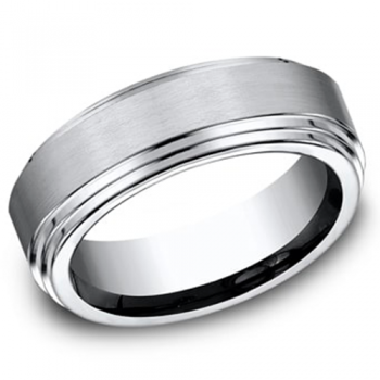 Men's Cobalt Chrome 8MM Wedding Band